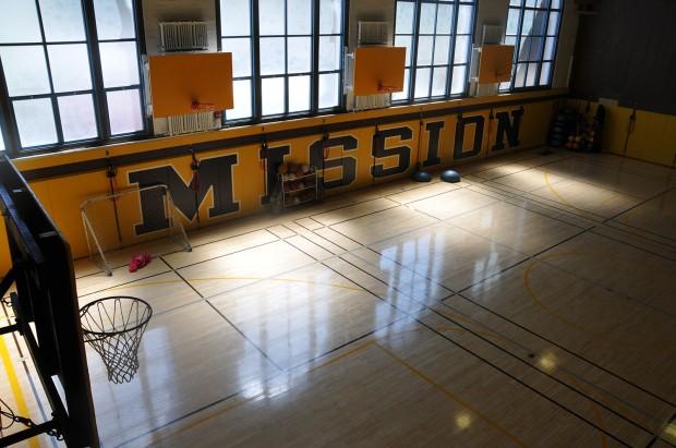 Photo shows a gymnasium. Photo: Alejandro Rosas