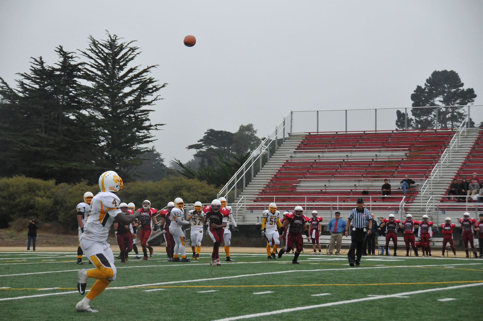 Mission High Mauls Lowell 46-13 in Season Opener