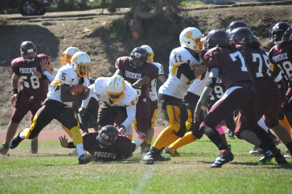 Mission played against Marshall Saturday Oct. 13 at SOTA.