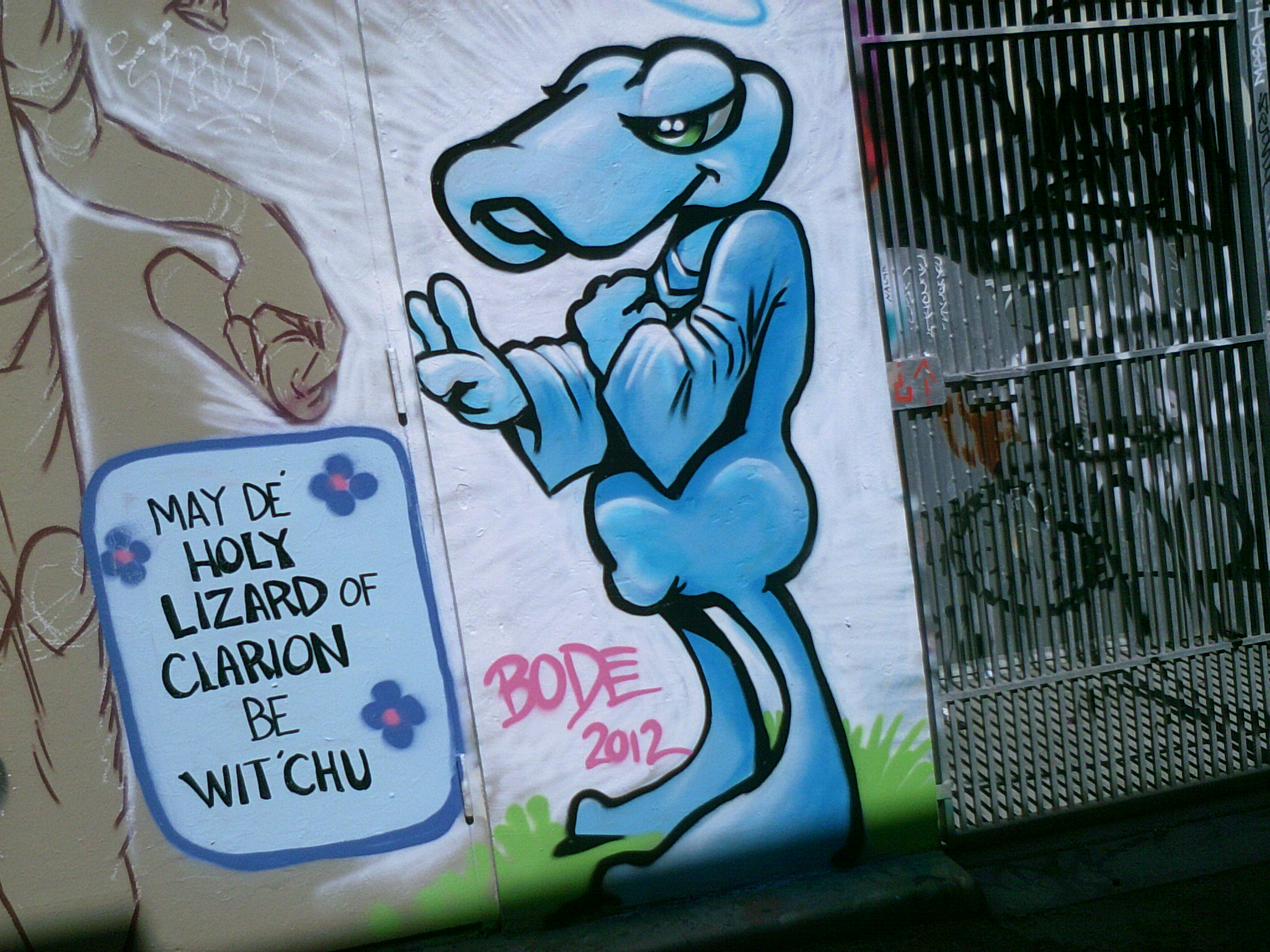 "Taken on Clarion Alley for Mission Local's ""Reporting in the Mission"" class"