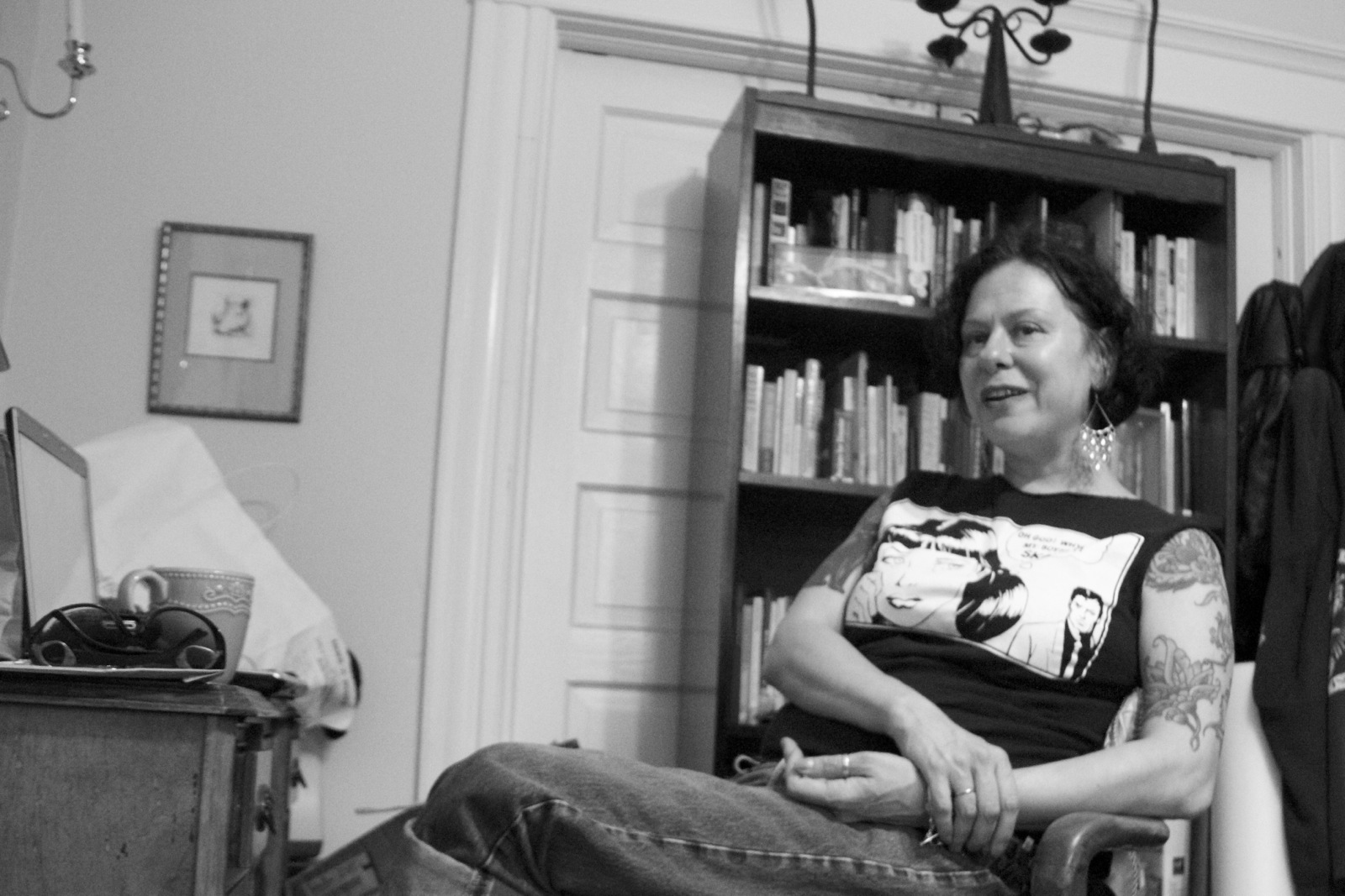 Mission author Daphne Gottlieb spent four years co-editing thousands of letters written by serial killer Aileen Wuornos.