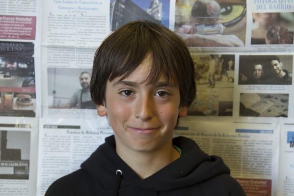 6th grade studen Desmond 'Desi' Bucky.