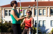 Jugglers show their hand-eye coordinated skill at Dolores Park.
