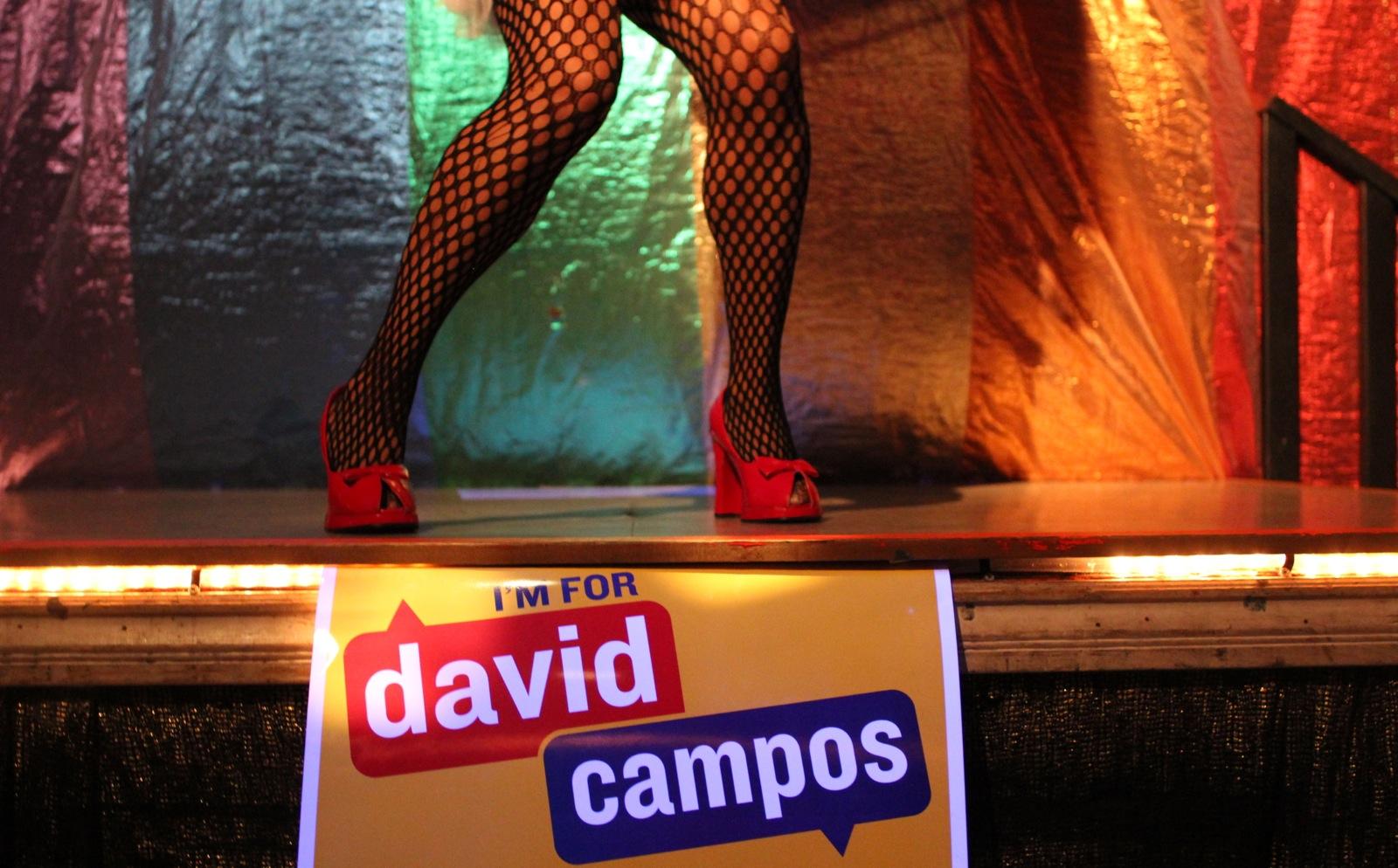 Hallo-Queen With David Campos