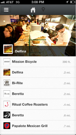 Postmates promises to bring you lunch from all of the trendy Mission restaurants.