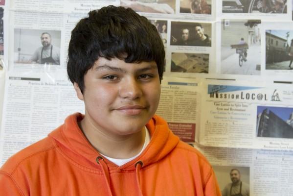 7th grade student Ramiro Carreño