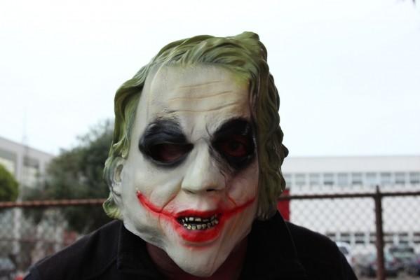 Shanta Bulken, aka The Joker. Photo by Alejandro B. Rosas