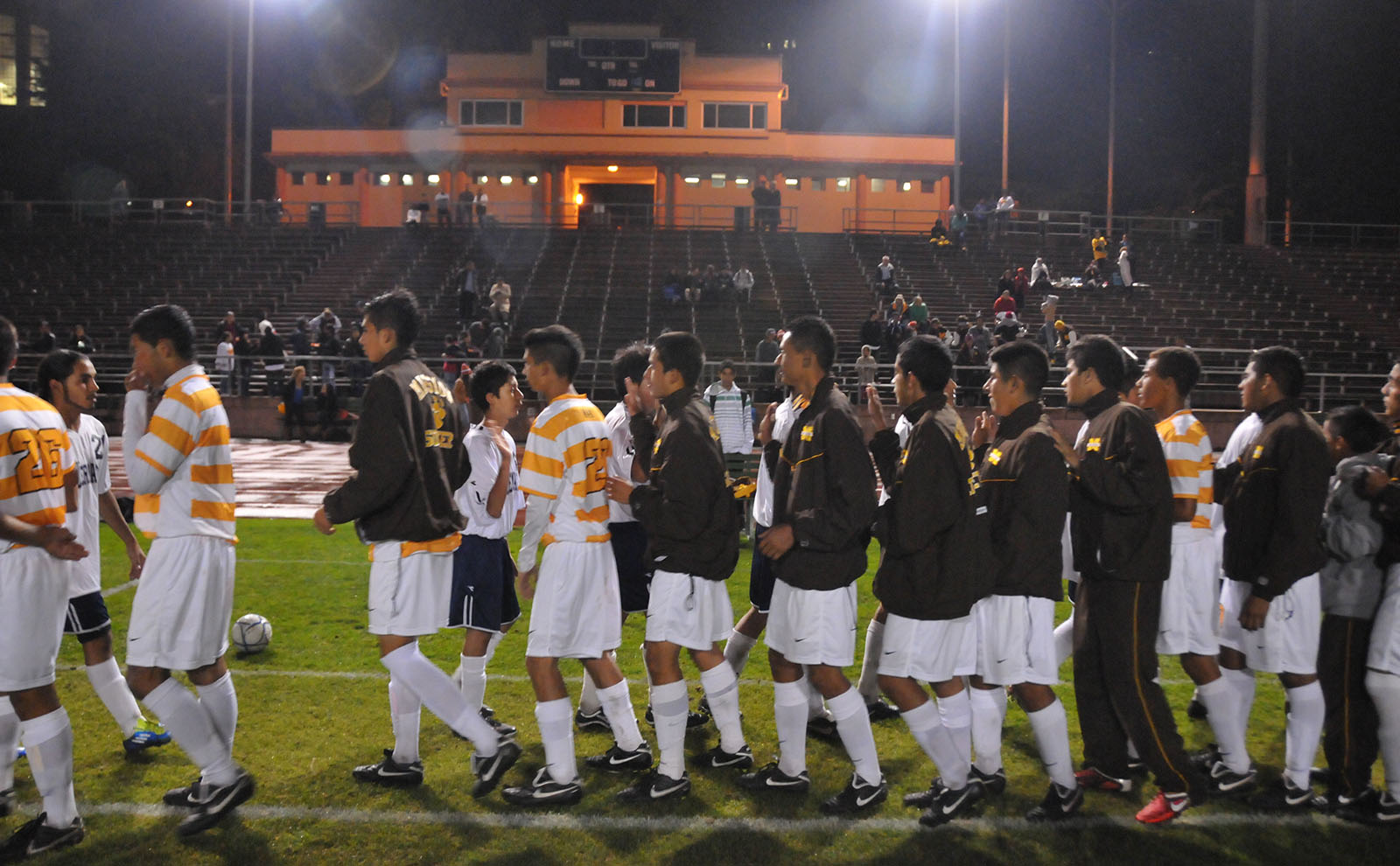 Mission High Soccer Team Rolls Over John O'Connell