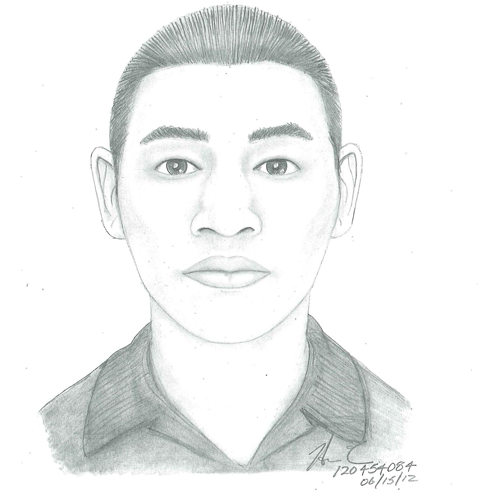 SFPD Releases Sketch of Suspect in June Homicide