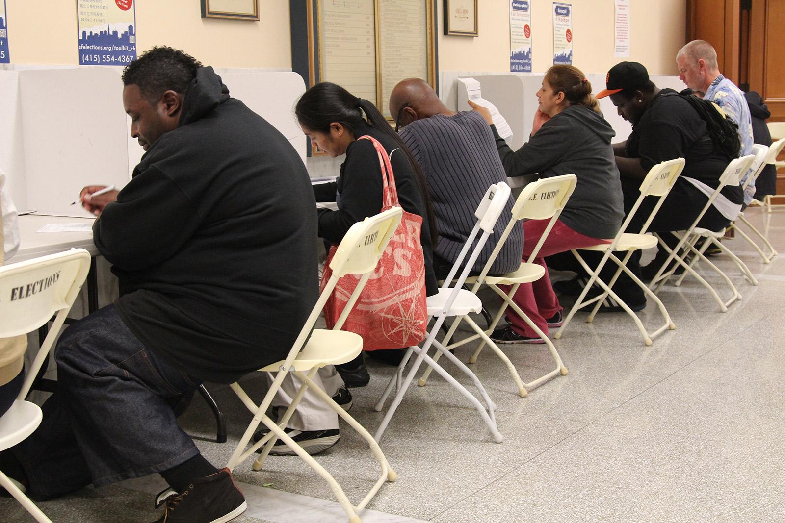 Turnout Jumps 3 Percent, District 7 Still a Toss-Up