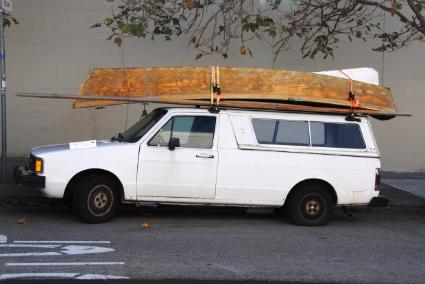 Is it a big canoe or a small sailboat?