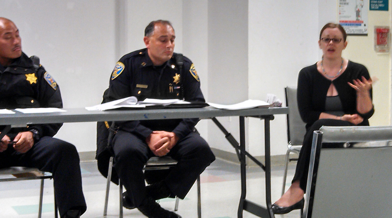 Police Community Meeting Offers Domestic Violence Resources