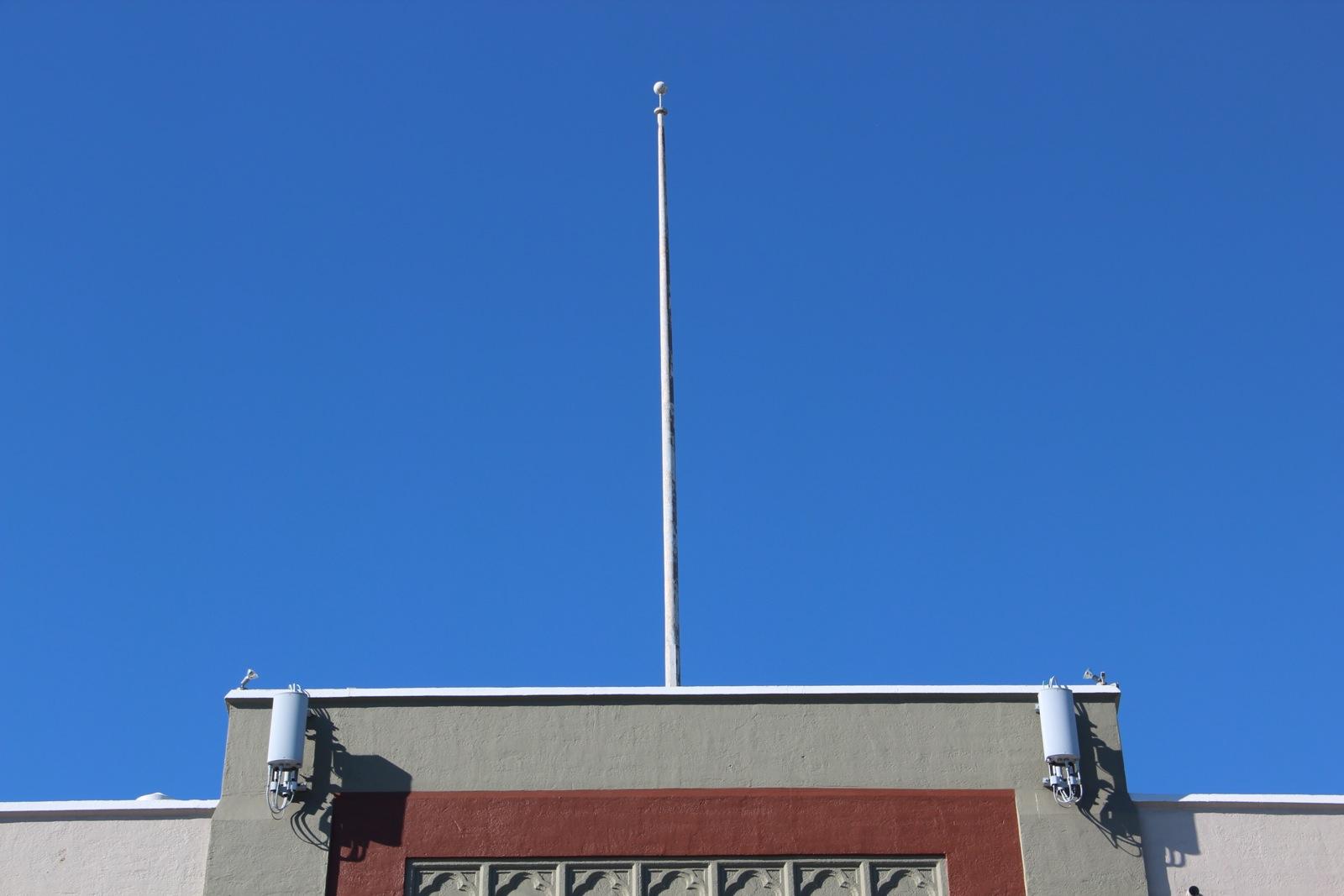 a flag pole