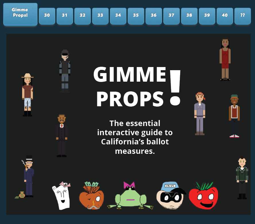 Gimme Props! An Interactive Guide to State Ballot Measures