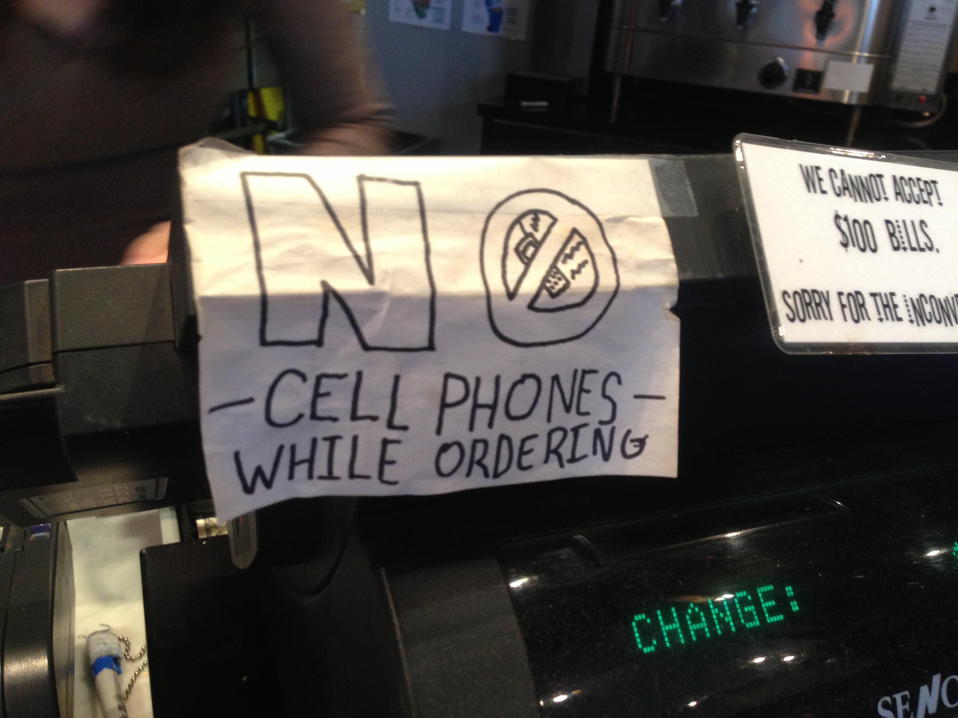 SNAP: Cell Phone Silence