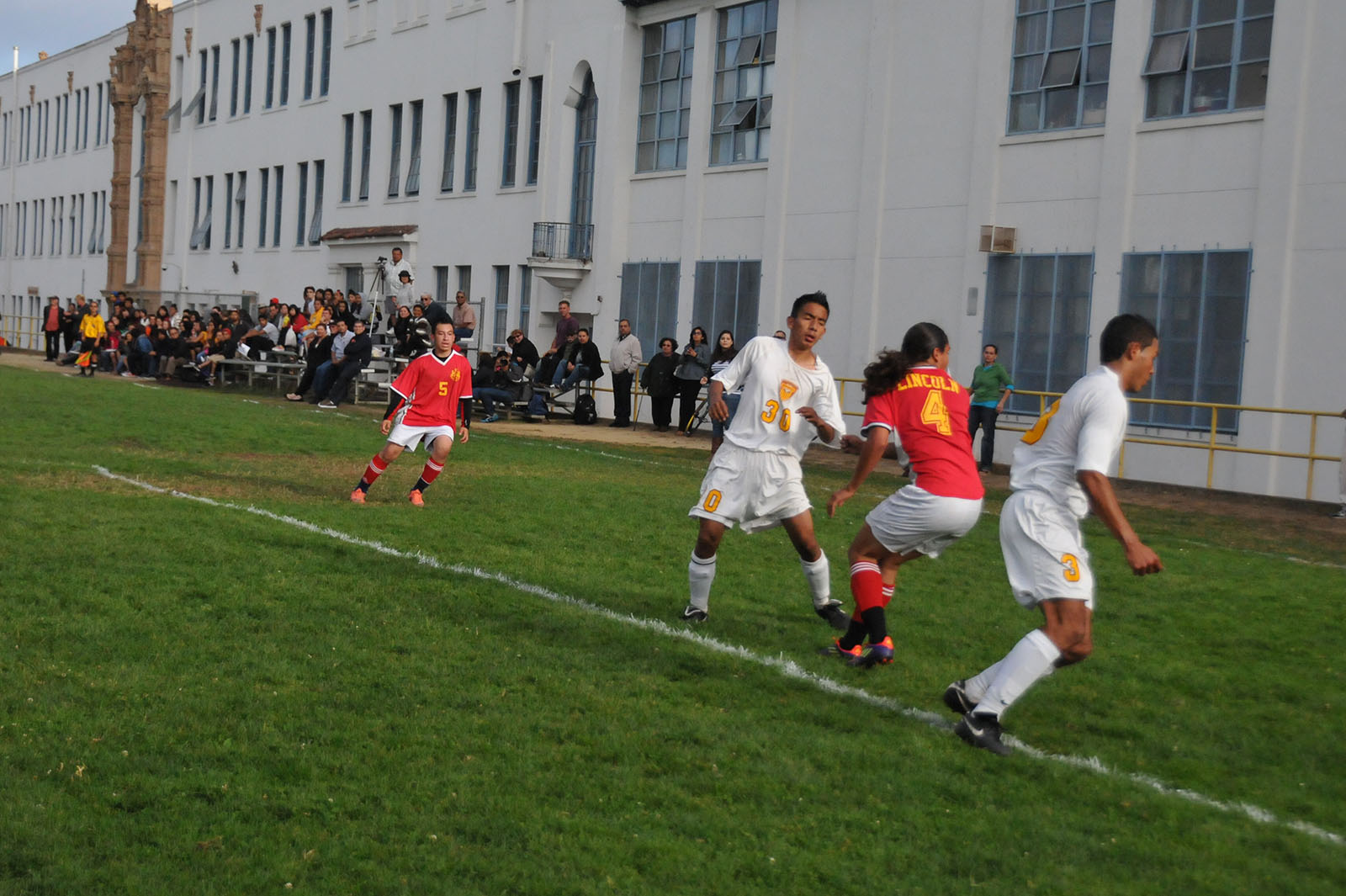 Mission High ladies soccer players