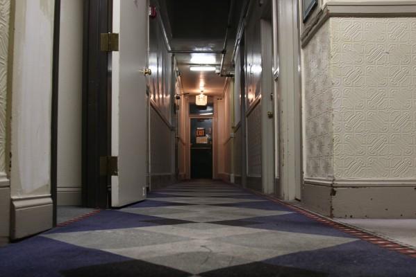 The second floor of El Capitan Hotel.