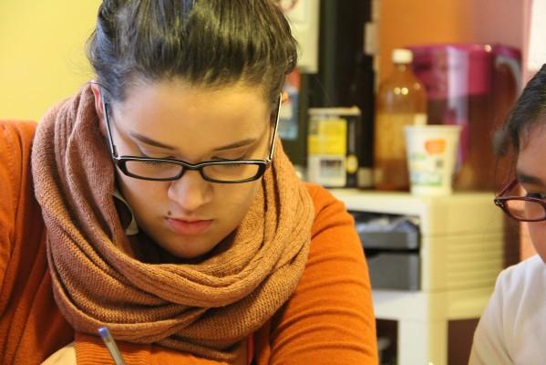 Marisol Pérez, una de las participantes más jóvenes, que forma parte del equipo en Mission Girls.