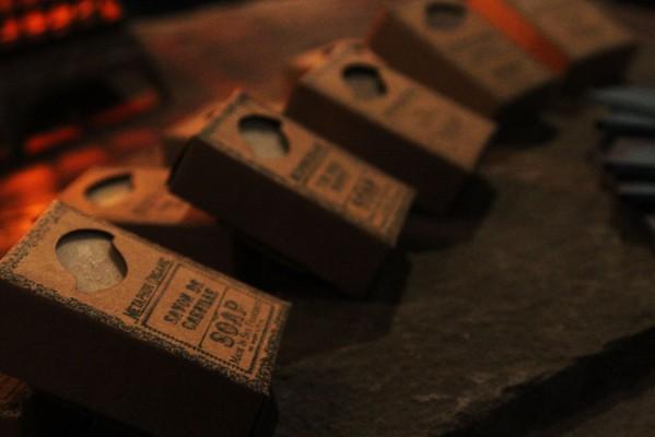 Hand-made soaps at Viracocha.