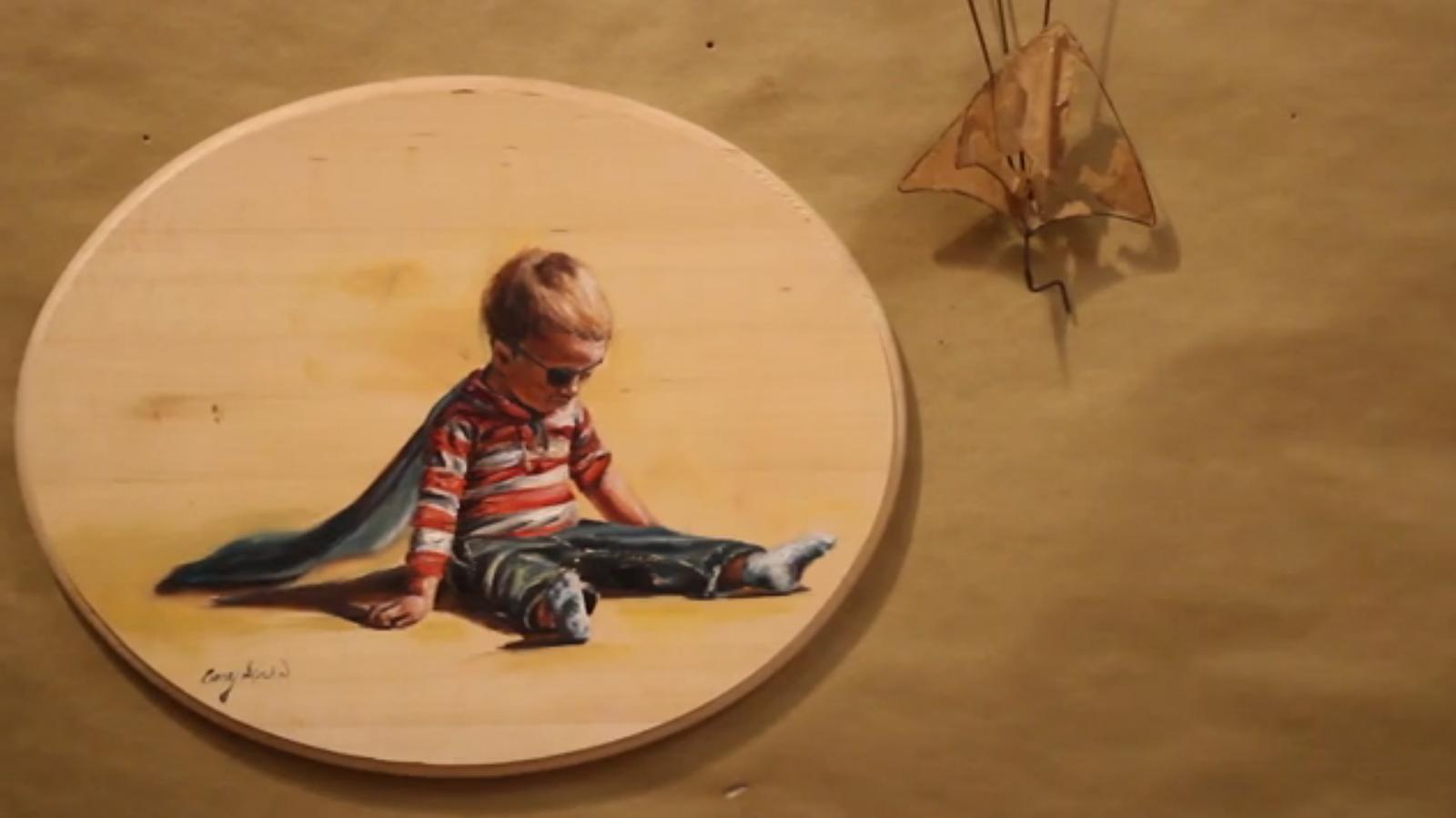 VIDEO: Childhood Memories Come to Life in Spohn's Studio