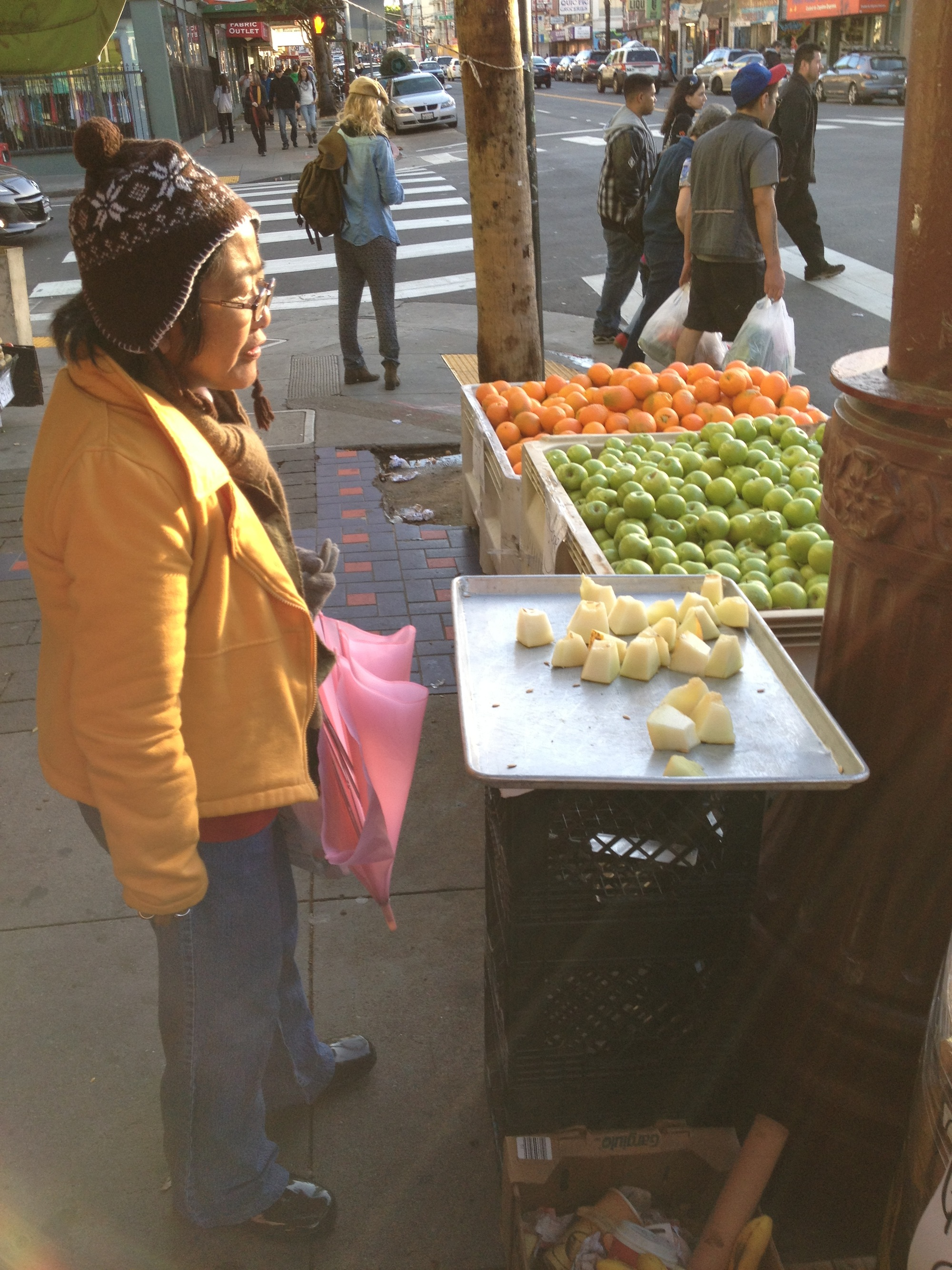 SNAP: Tamale Lady Has Competition