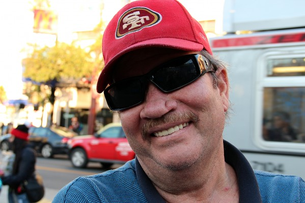 """Dan McHugh credits the 49ers' success to their coach, Jim Harbaugh. """"The way he pulls off his strategy is unbelievable,"""" McHugh says. """"Without a doubt, I know they are going to win."""""""