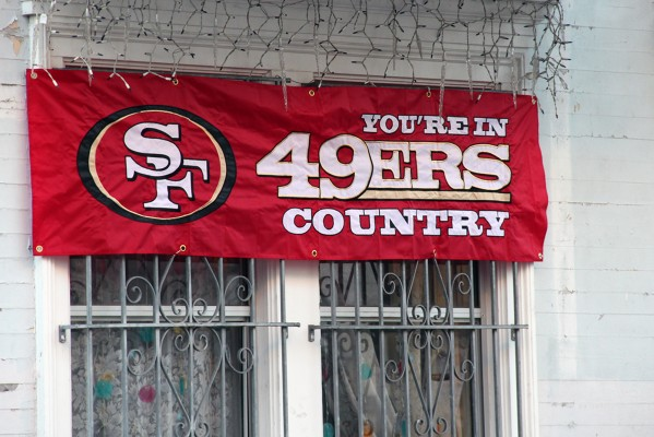 It was Giants country, but San Francisco is now 49ers country.