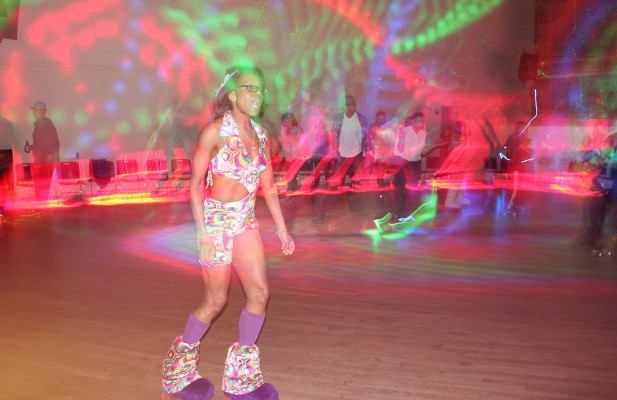 Roller disco is a lifestyle, not merely a fair weather hobby. Photos by Carly Nairn.