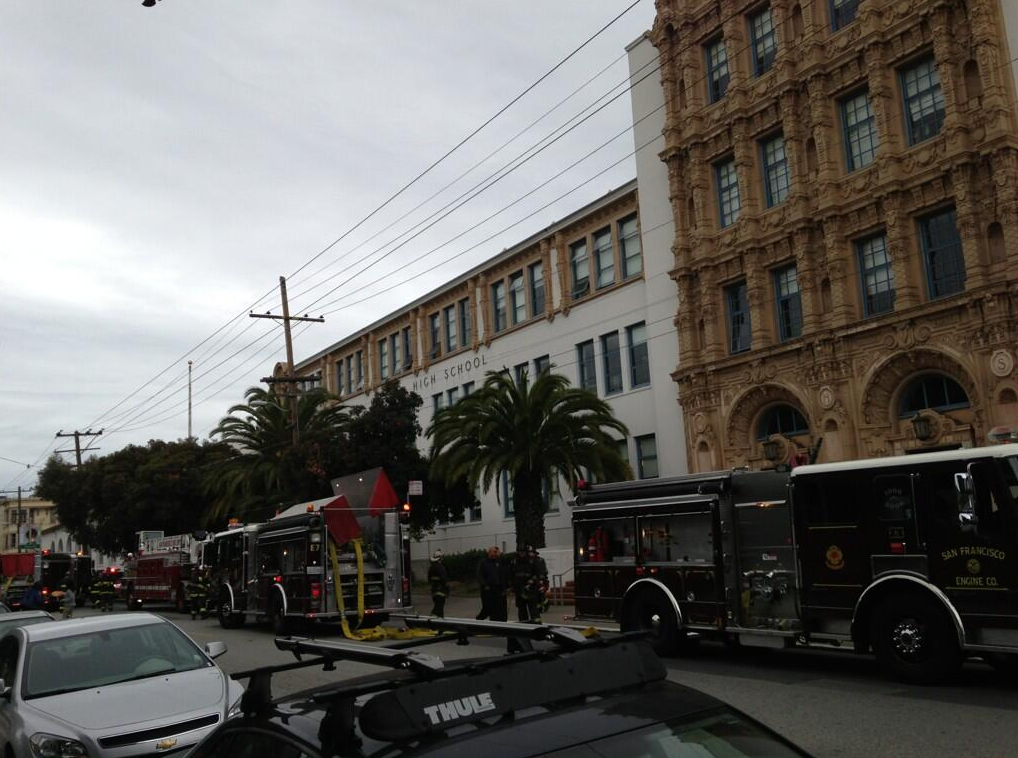 Fire Trucks Dispatched to Mission High After Electrical Outage