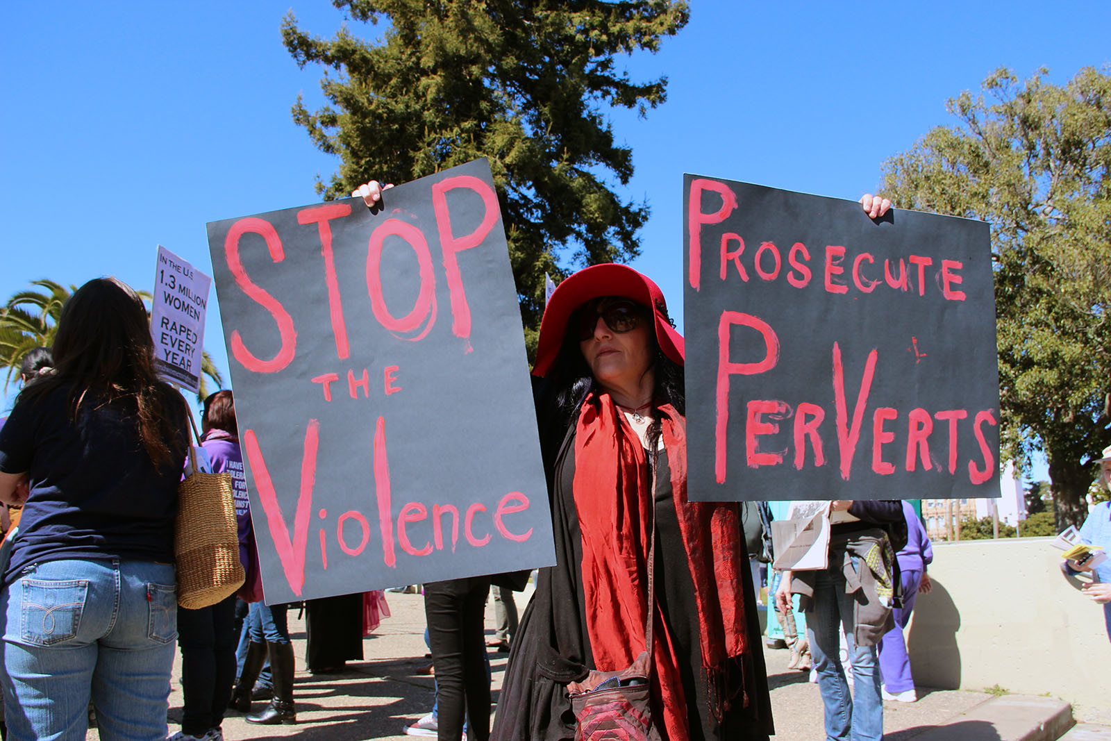 Rally for Women's Rights in the Mission
