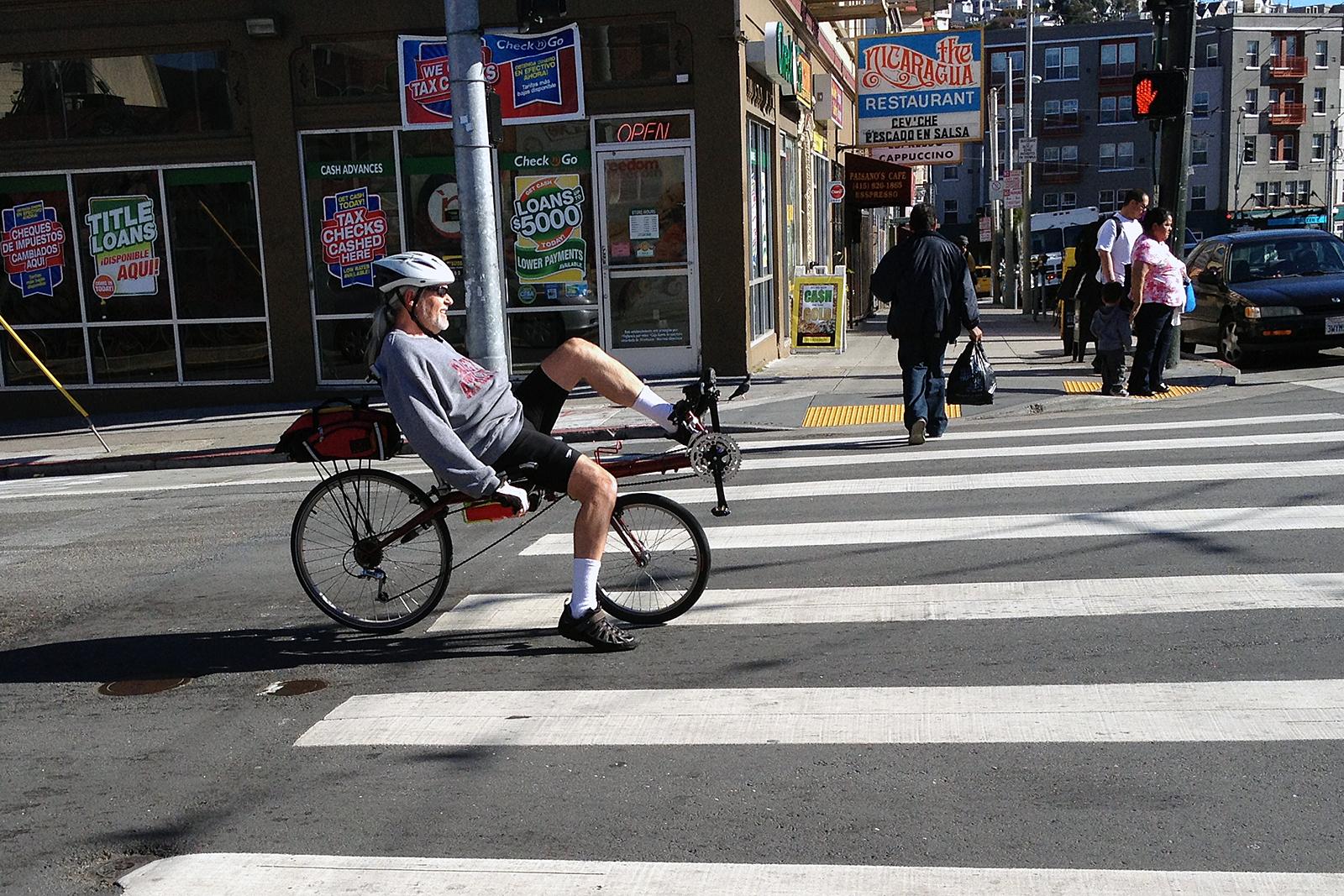 SNAP: Lean Back and Bike