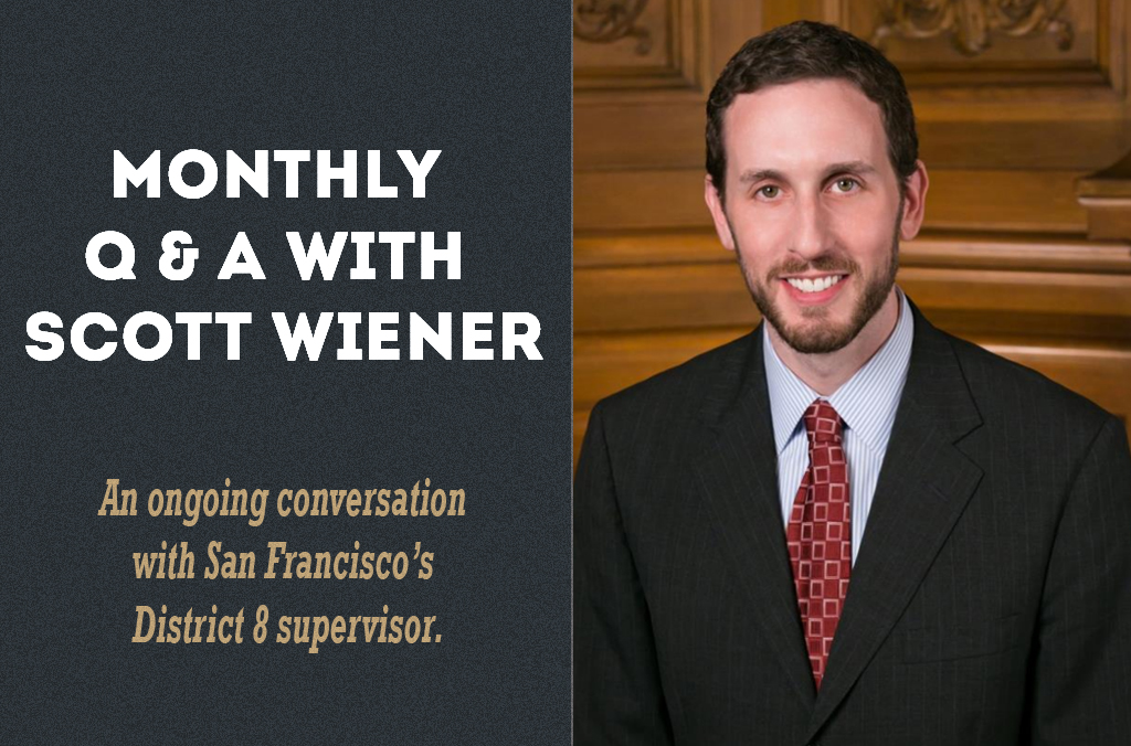 Q&A With Scott Wiener: Condo Conversion, Video Surveillance