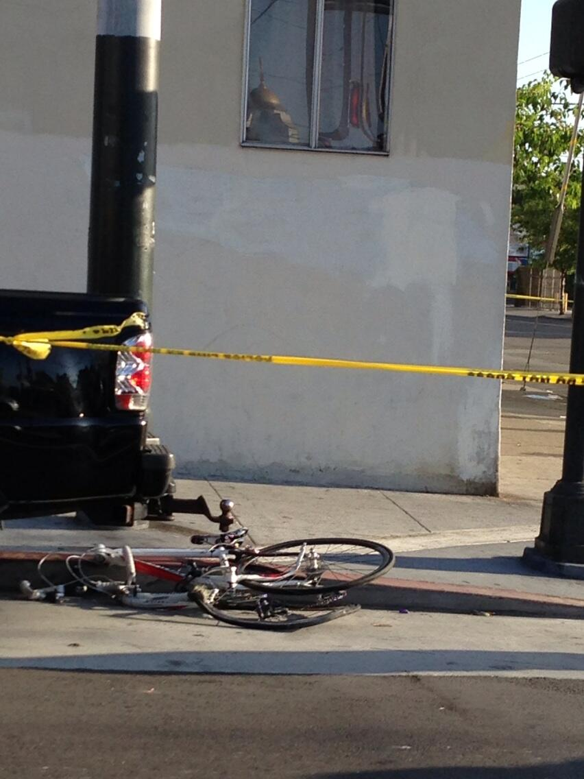 Bicyclist Killed in Collision With Garbage Truck
