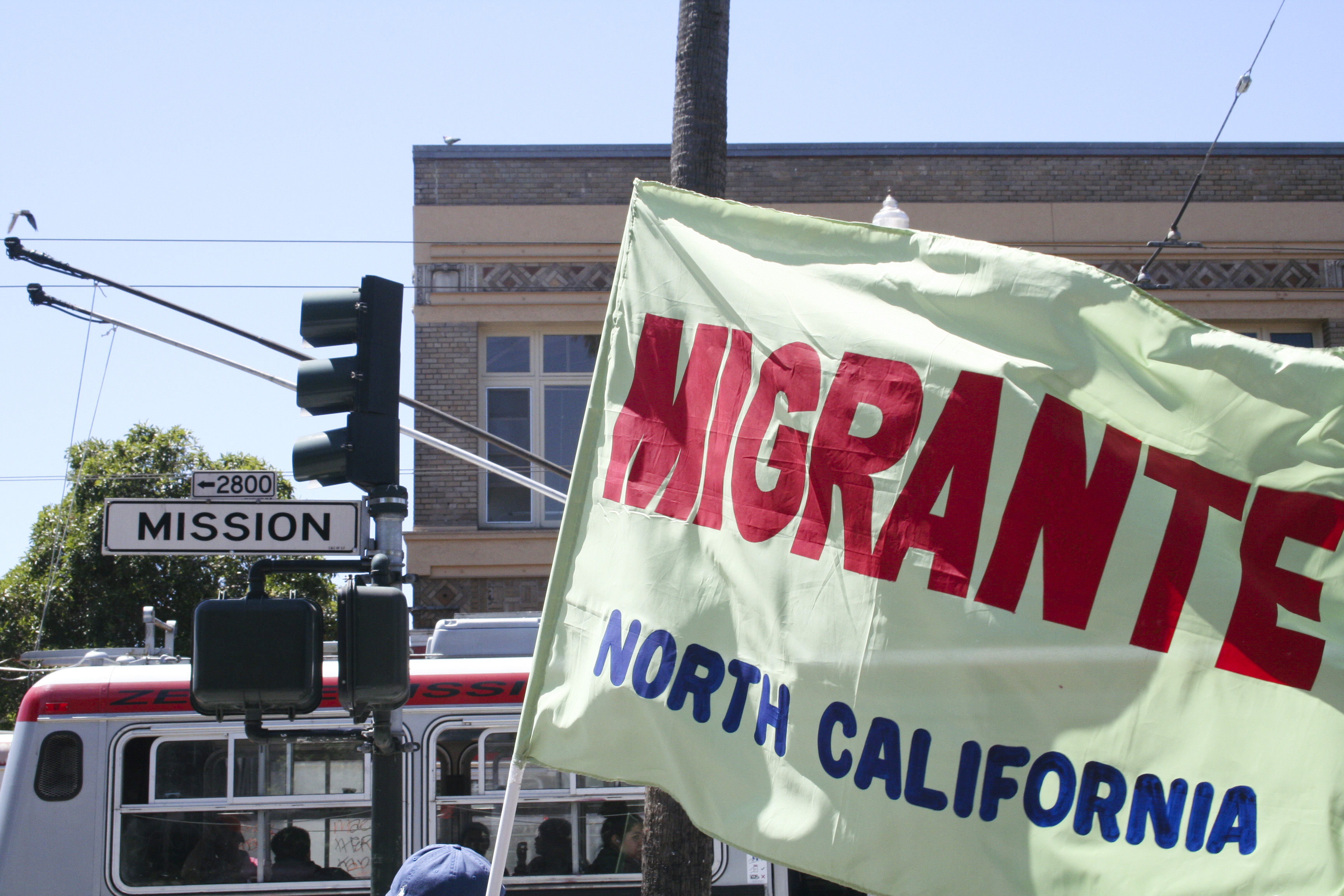 San Franciscans March Through Mission for May Day