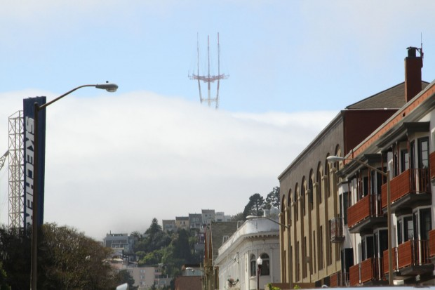 View of Twin Peaks from 22nd Street. Photo by Tay Wiles.