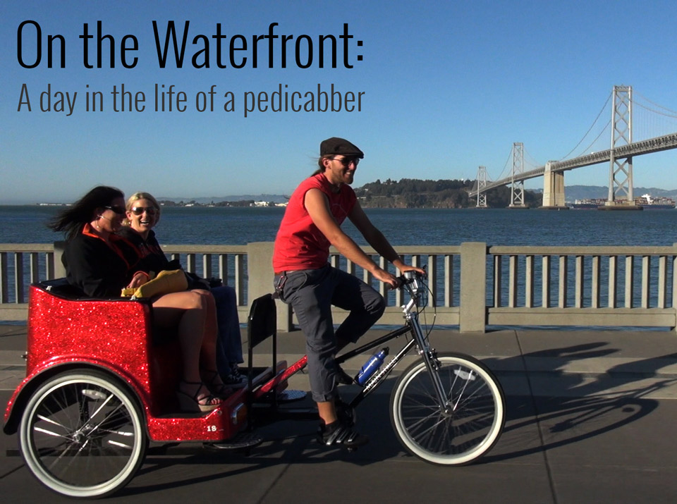 San Francisco Pedicabbers Pick Up Speed