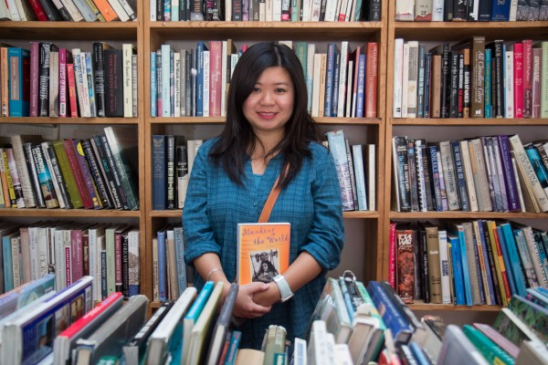 Film researcher Mei Duong, 29, read about the closing in a newspaper and decided to check out the used bookstore. She was in search of archaeology, historical fiction and art history books.