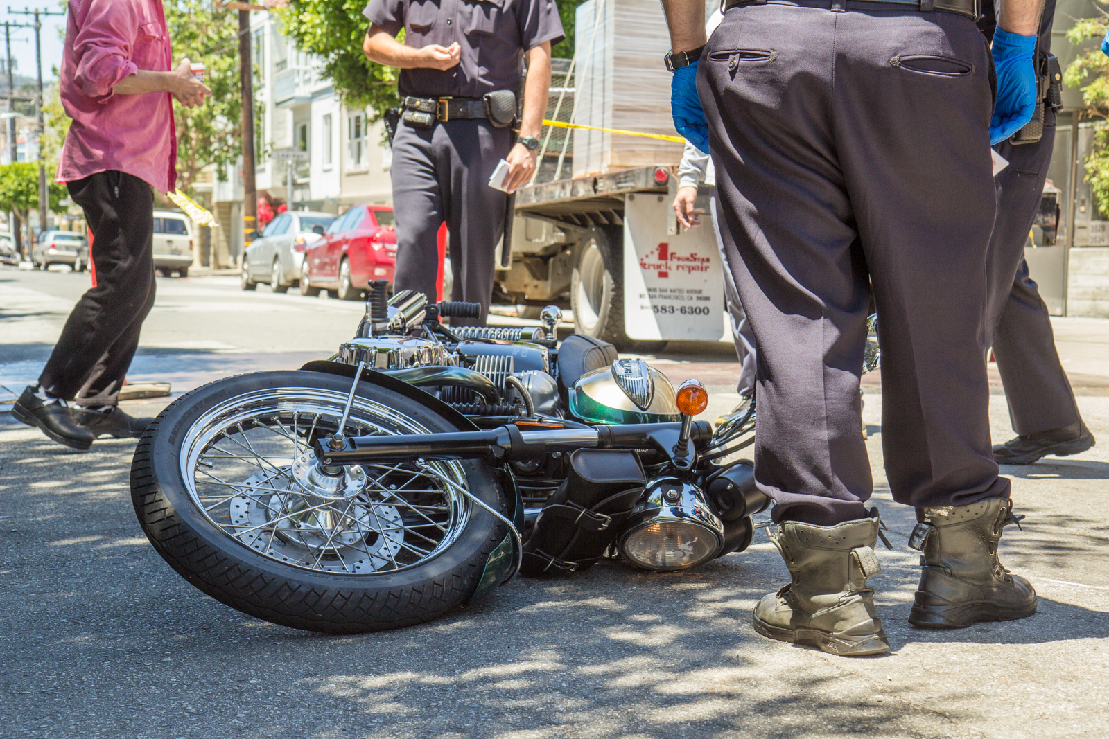 Motorcycle Accident on 19th Street