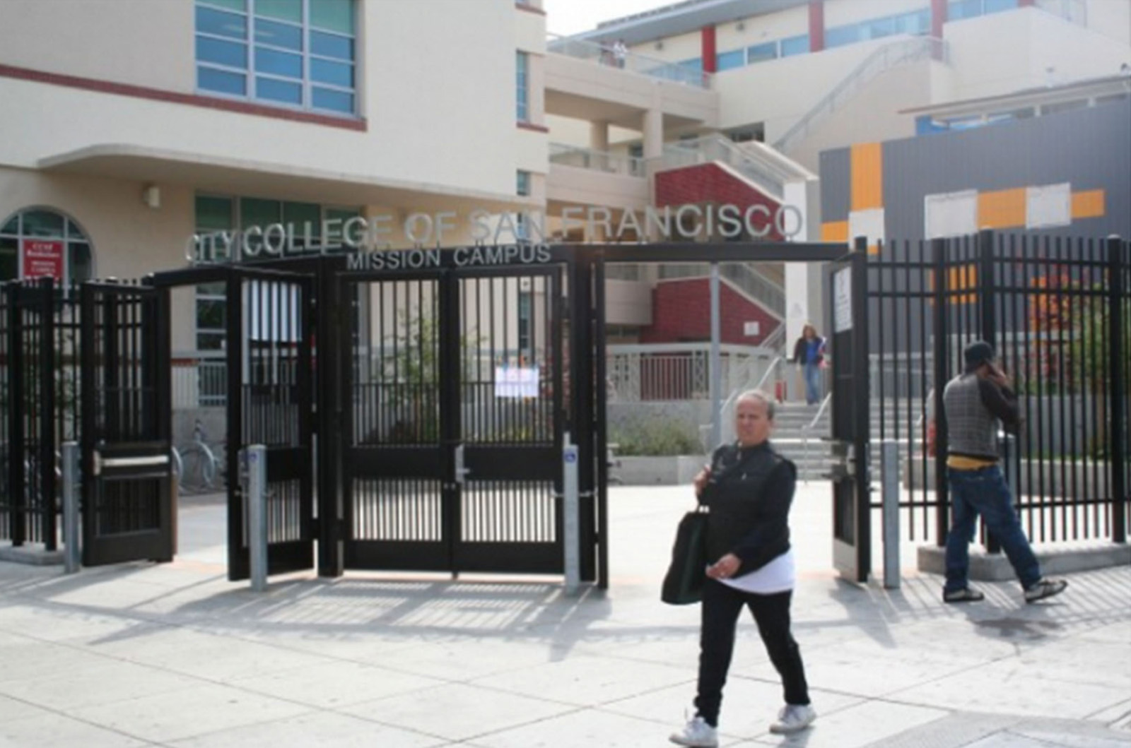 The City College of San Francisco Mission District campus. Photo by Mission Local staff.