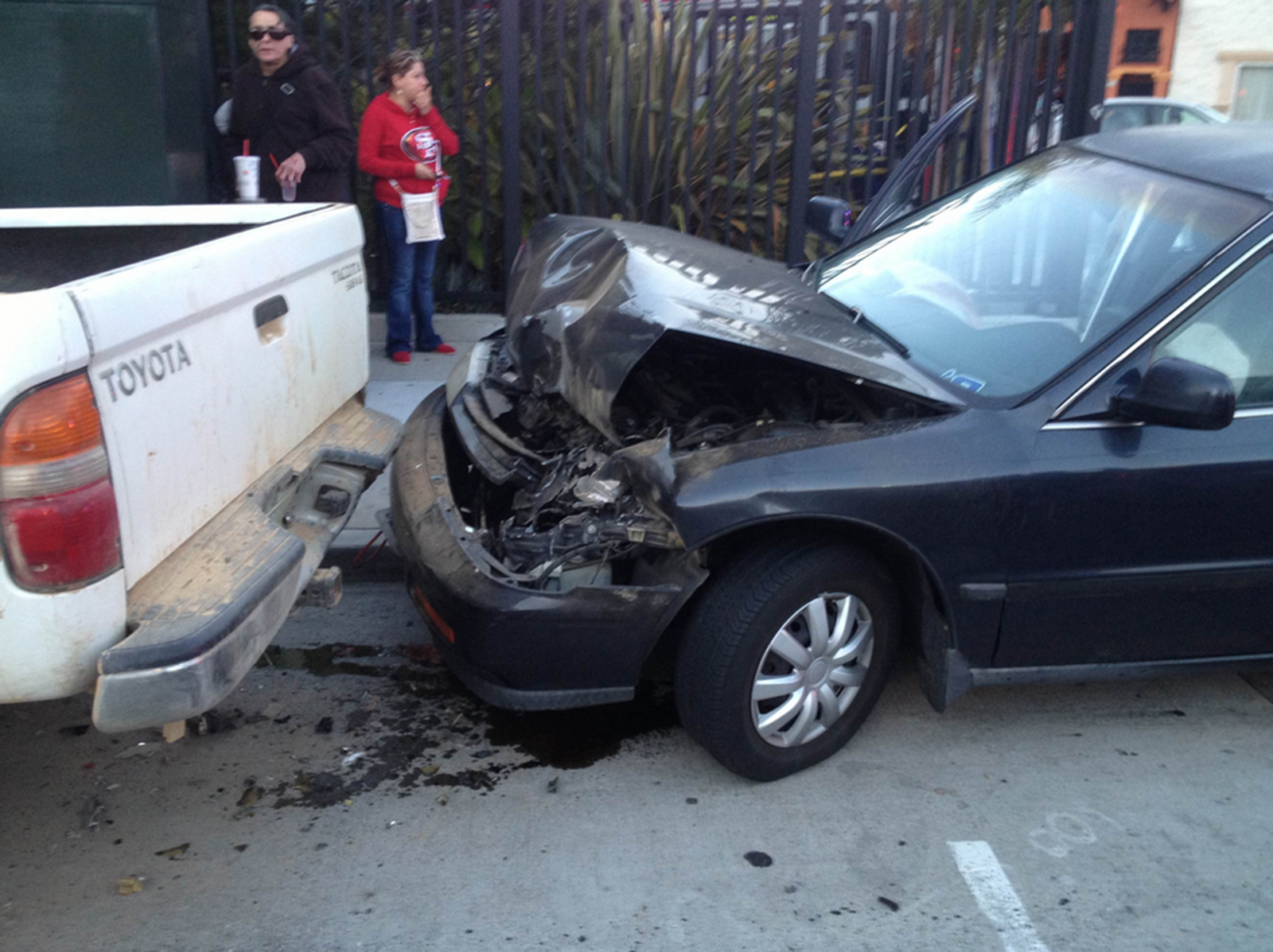 Car Chase Leads to Collision