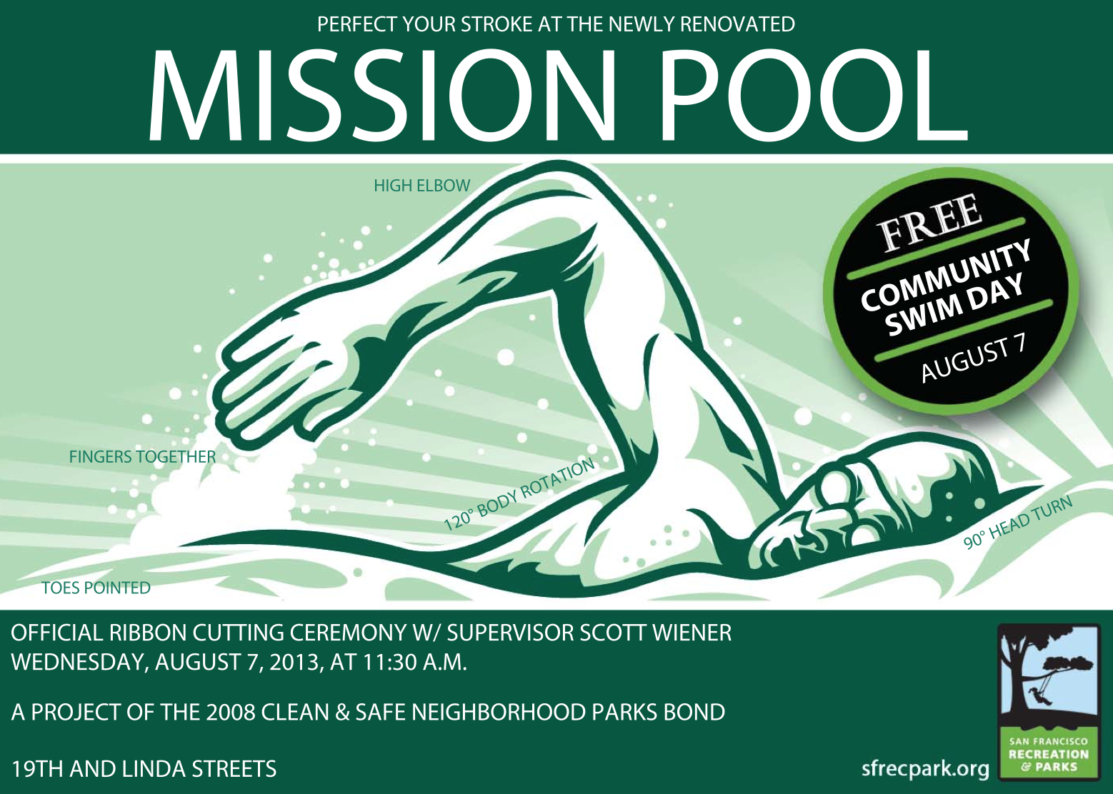 Mission Pool Reopens Wednesday