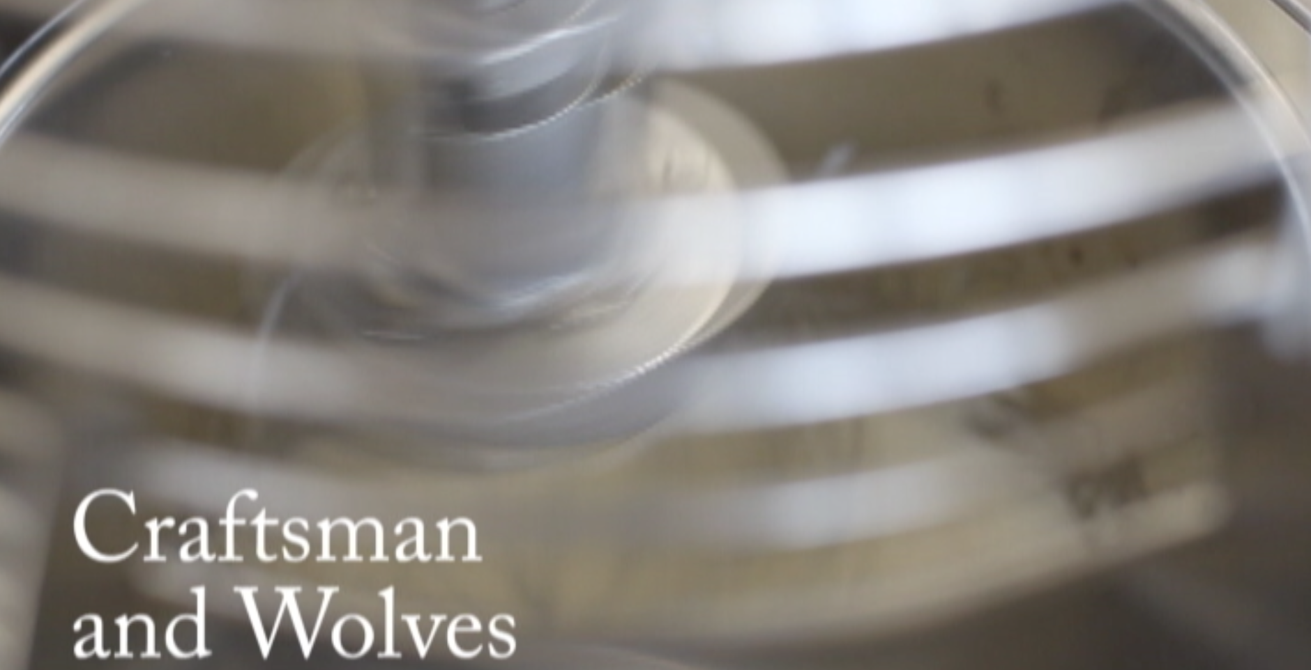 VIDEO: Craftsman and Wolves: The better to feed you with