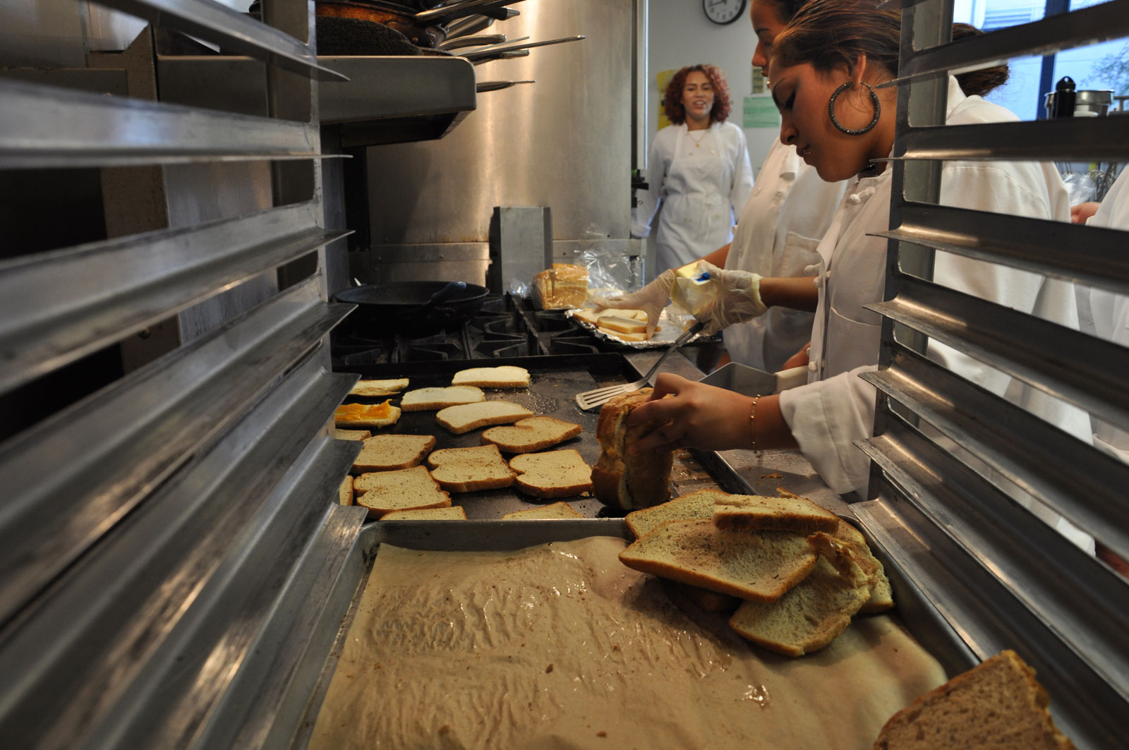 PHOTOS: O'Connell Students Get in the Kitchen