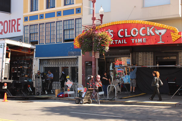 "HBO'S ""Looking"" at Doc's Clock"