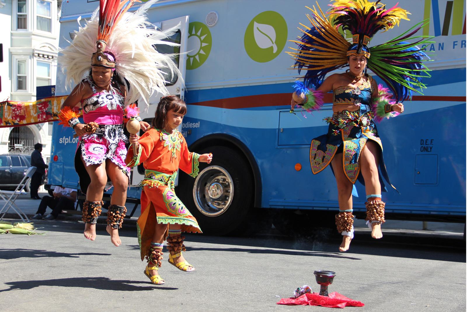 SNAP: Aztec Dancers