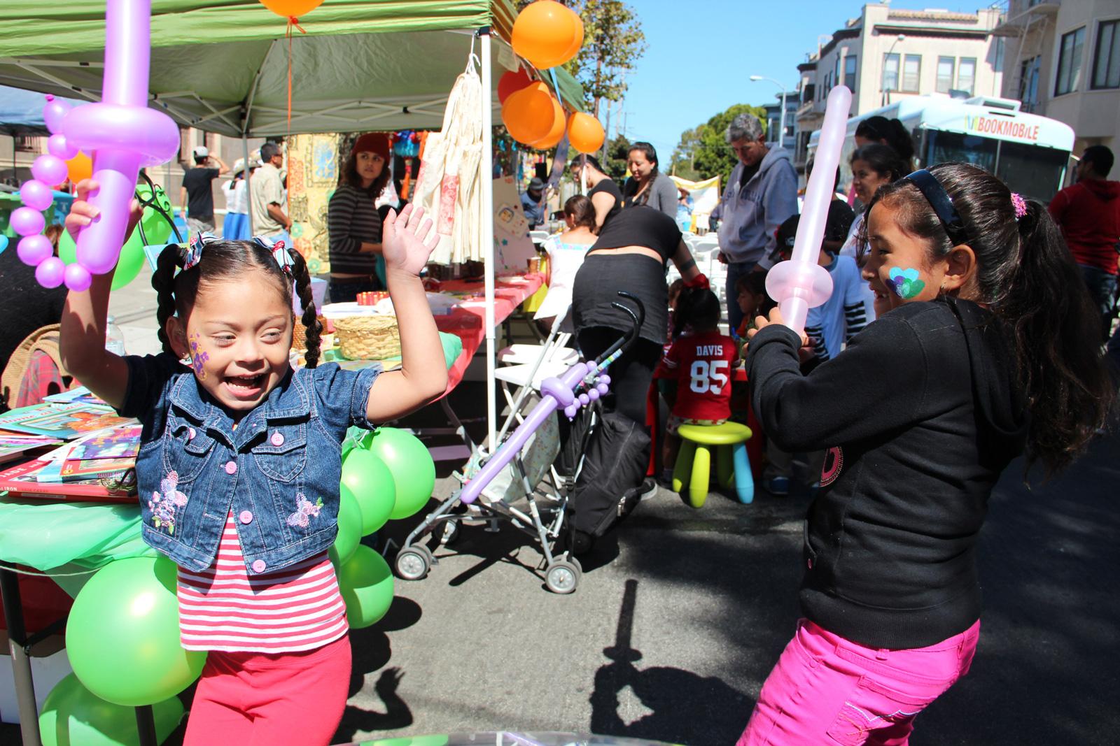 Families Celebrate Flor y Canto Festival