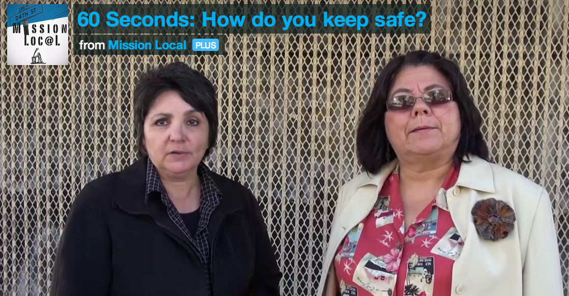 VIDEO: 60 Seconds: How do you keep safe in the Mission?