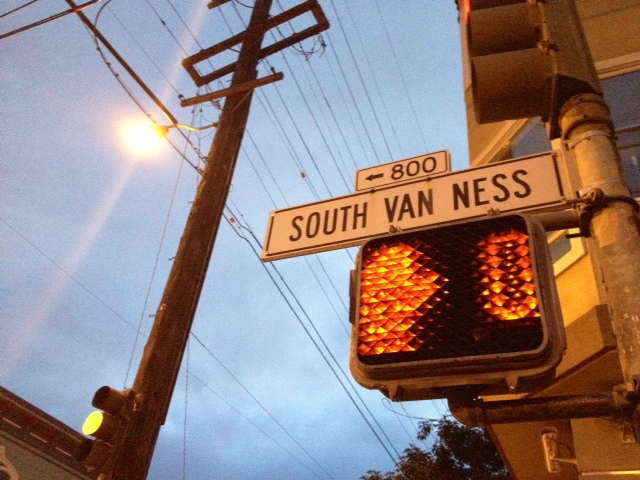 The Danger Zone of South Van Ness