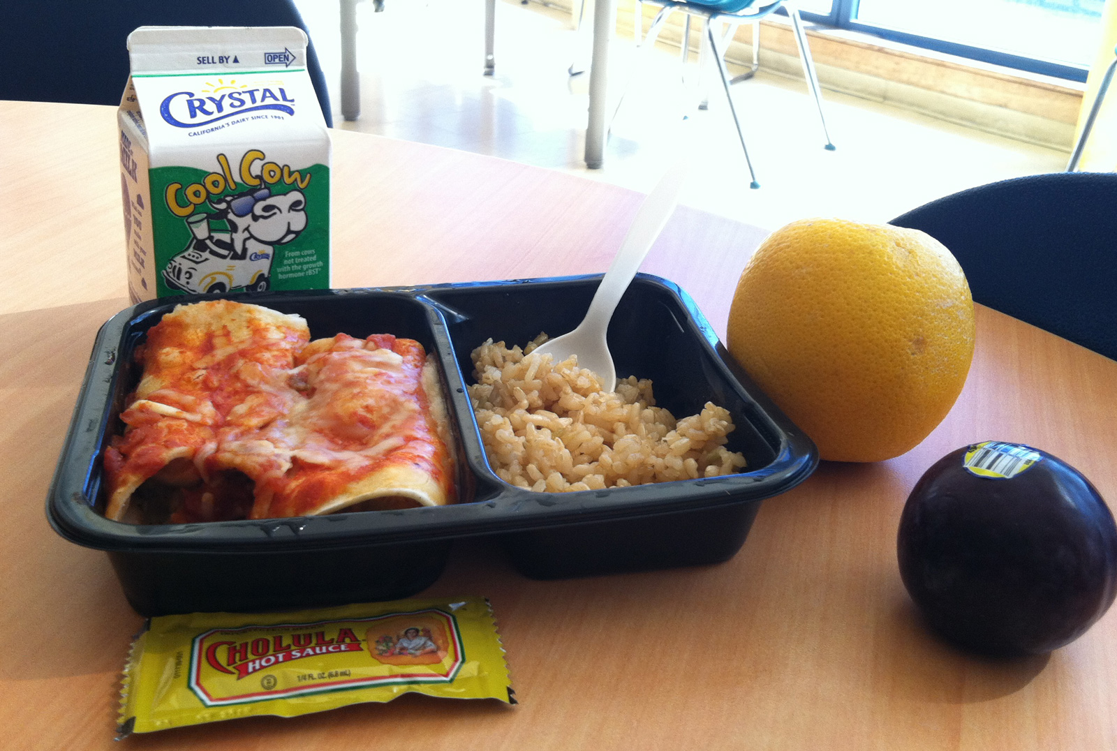 Students Dish About Healthier School Lunches