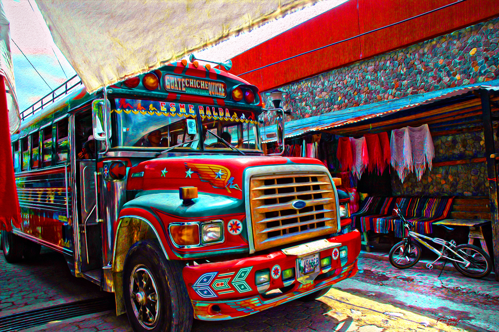 Moving Murals: Bedazzle a Tech Bus and Win $500